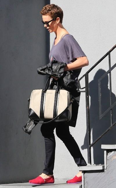 Charlize Theron le 31 janvier 2013 à Los Angeles