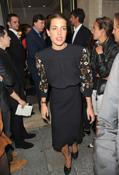 Charlotte Casiraghi lors de la Vogue Fashion Night à Paris, le 8 septembre 2011.