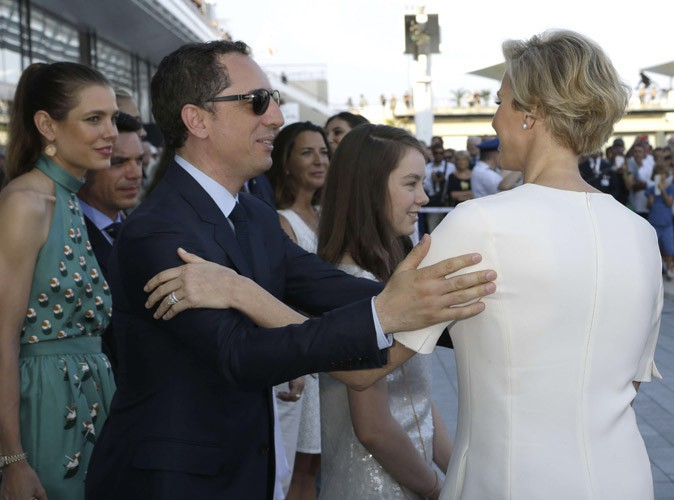 Photos : Charlotte Casiraghi et Gad Elmaleh : heureux aux côtés de Charlène et Albert de Monaco !