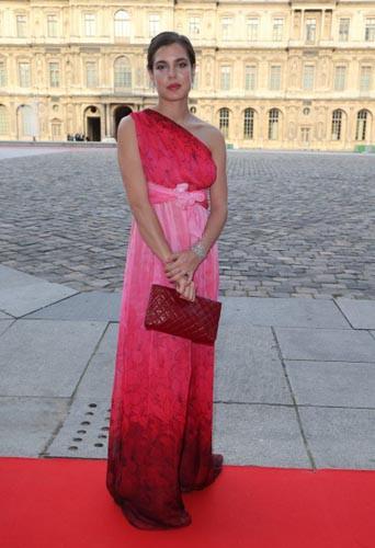 Charlotte Casiraghi en juin 2013, à trois mois de grossesse !