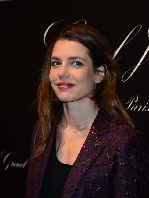 Charlotte Casiraghi lors de la soirée de lancement du 4e Gucci Masters, le 29 novembre 2012 à Villepinte.