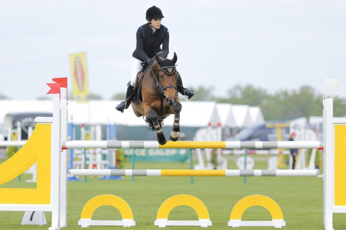 Charlotte Casiraghi au jumping de Chantilly
