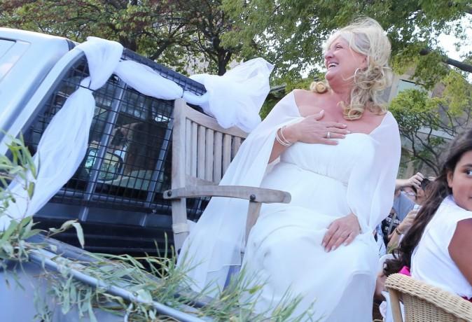 Photos : Charlotte de Turckheim a épousé Zaman, son compagnon depuis plus de trois ans !