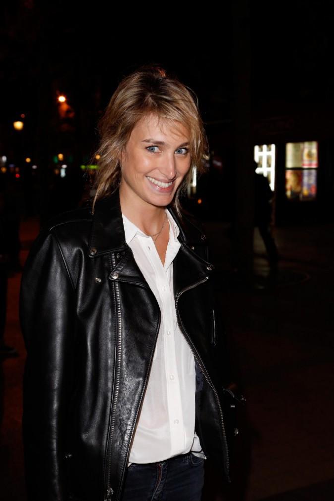 Pauline Lefèvre à Paris le 14 octobre 2014