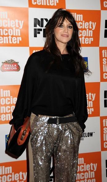 Charlotte Gainsbourg pour la première du film Melancholia lors du Festival du Film de New York, le 3 octobre 2011.