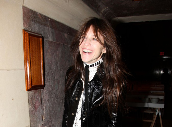Photos : Charlotte Gainsbourg : morte de rire à New York !
