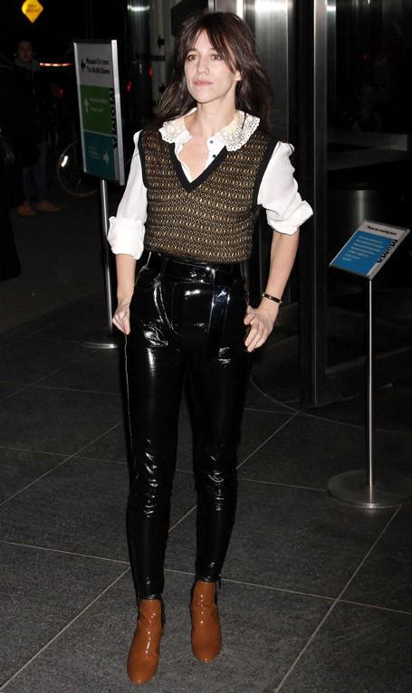 Charlotte Gainsbourg à l'avant-première new-yorkaise de Nymphomaniac-Volume 1 le 13 mars 2014