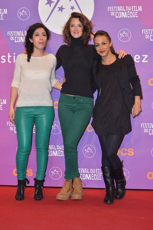 Charlotte Le Bon au festival international du film de comédie de l'Alpe d'Huez le 17 janvier 2013