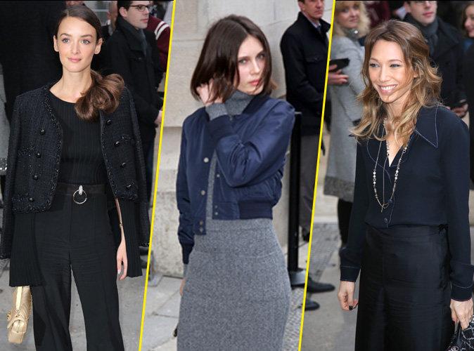 Charlotte Le Bon, Laura Smet, Marine Vacth : les élégantes frenchies chez Chanel