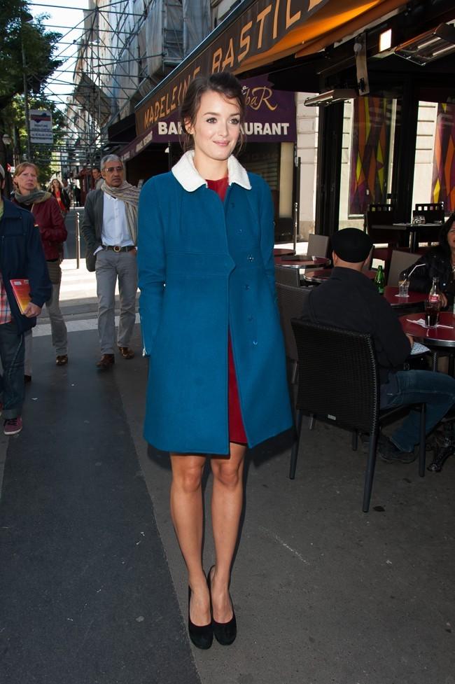 Charlotte Le Bon le 30 septembre 2012 à Paris