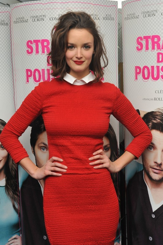 Charlotte Le Bon le 18 décembre 2012 à Paris