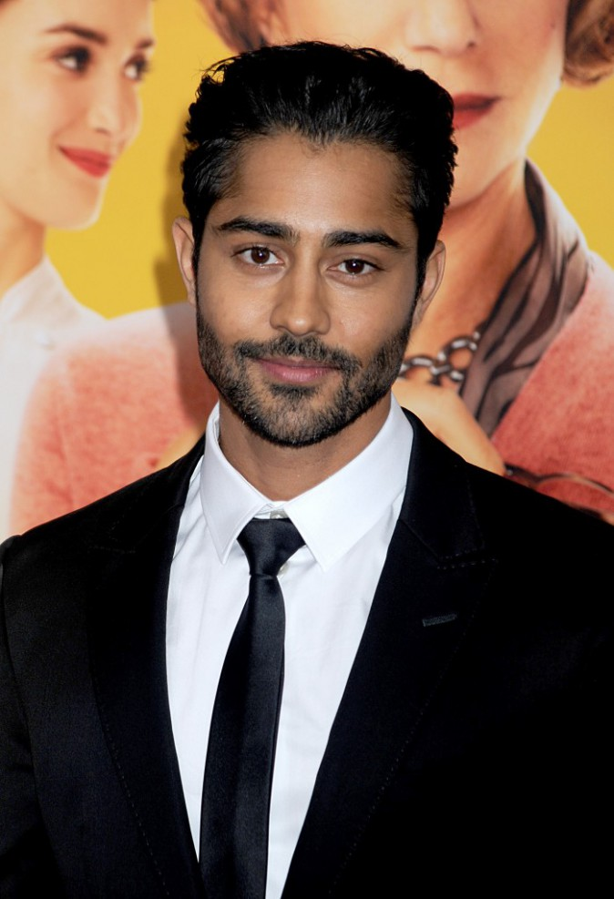 Manish Dayal à l'avant-première New Yorkaise de The Hundred-Foot Journey le 4 août 2014