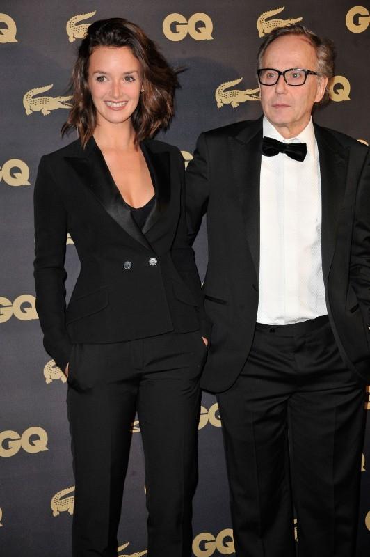 Charlotte Le Bon et Fabrice Luchini le 16 janvier 2013 à Paris