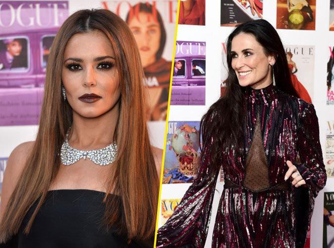 Photos : Cheryl Cole, Demi Moore : duel de vamp au Gala Vogue 100 !