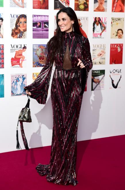 Photos : Demi Moore au Gala Vogue 100 !