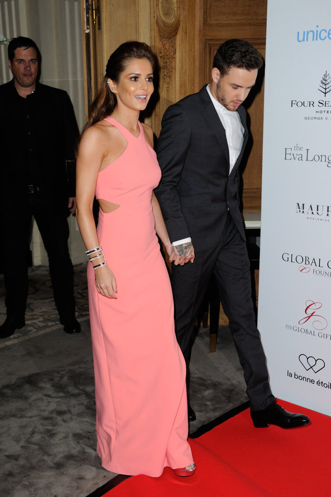 Cheryl Cole et Liam Payne à Paris ce lundi 9 mai 2016