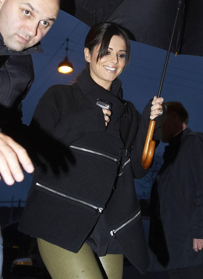 Cheryl Cole le 24 septembre 2012 au Danemark