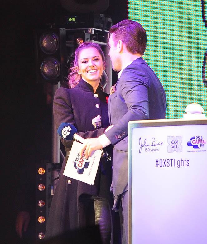 Cheryl Fernandez-Versini à Londres le 6 novembre 2014
