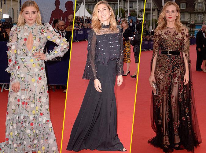 Chloë Moretz, Julie Gayet, Diane Kruger... Pluies d'invitées prestigieuses au Festival du film de Deauville !