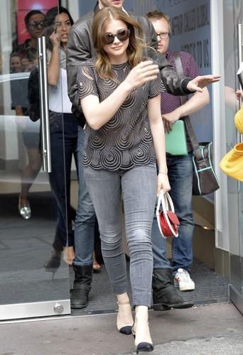 Chloë Moretz à Londres le 5 août 2013