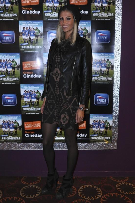 Alexandra Rosenfeld à l'avant-première des Seigneurs à Paris le 25 septembre 2012