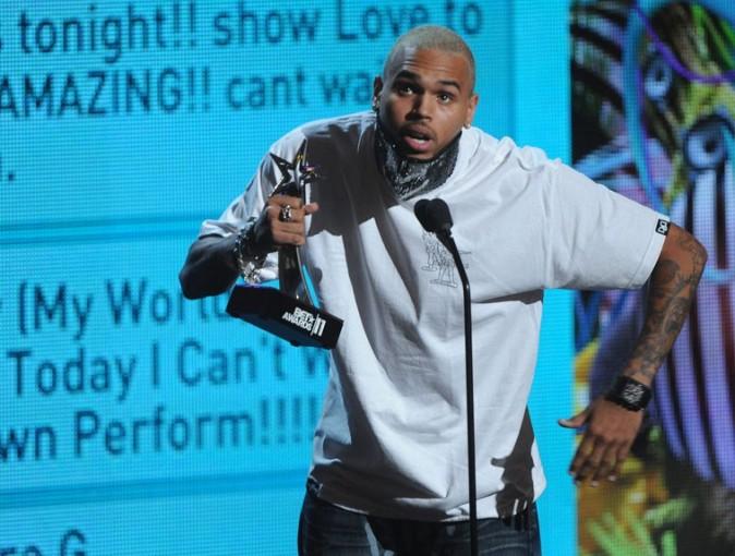 Chris Brown, grand vainqueur des BET Awards 2011 !