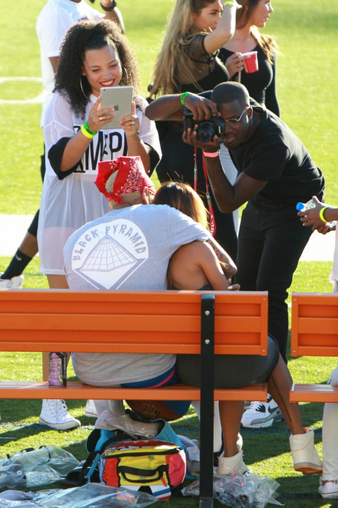 Photos : Chris Brown et Karrueche Tran : complices et véritablement heureux, c'est reparti pour un tour !