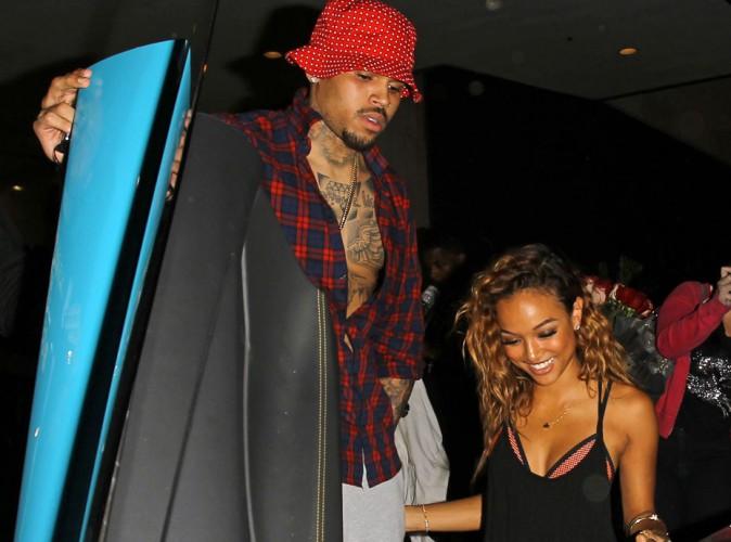 """Chris Brown et Karrueche Tran : en mode """"je t'aime, moi non plus""""... C'est de nouveau l'heure de la réconciliation !"""