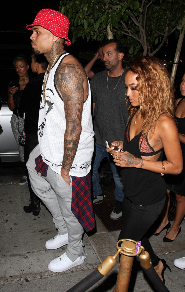 Chris Brown et Karrueche Tran : Je t'aime, moi non plus ! Entre les deux, c'est l'heure de la réconciliation !