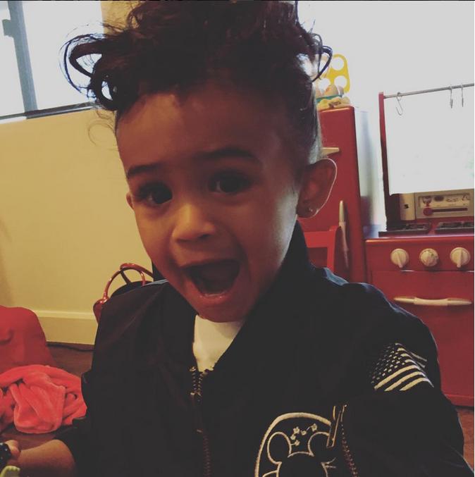 Royalty, la fille de Chris Brown