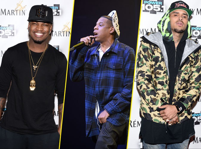 Photos : Chris Brown, Jay-Z, Ne-Yo : belle brochette de rappeurs à la soirée Power 105.1's Powerhouse !