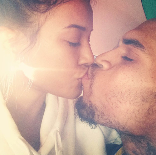 "Karrueche Tran écrivait ""always and forever"" en octobre 2013"