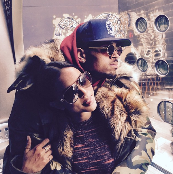 La dernière photo de couple publiée par Karrueche Tran sur Instagram il y a deux semaines