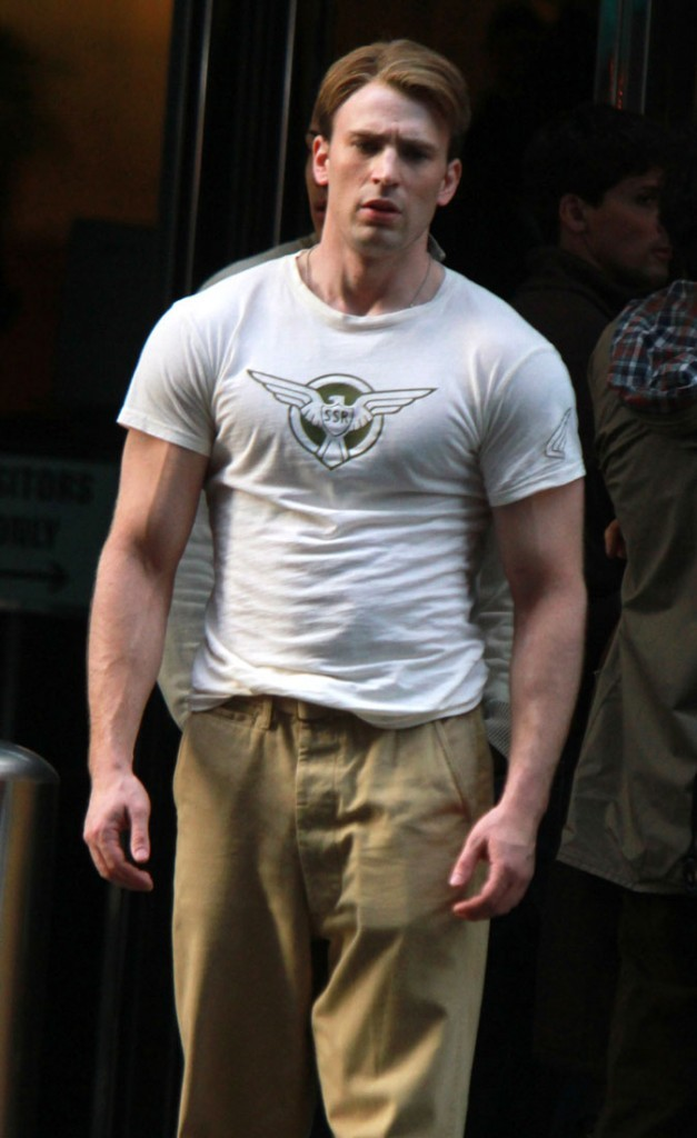 Photos : Chris Evans de Captain America
