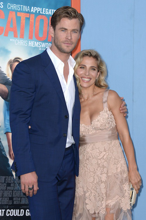 Photos : Chris Hemsworth : amoureux et en famille pour le première de Vacation !
