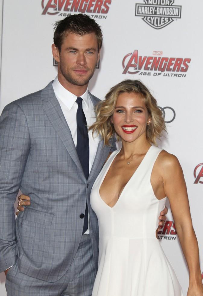 Photos : Chris Hemsworth et Elsa Pataky vs Susan et Robert Downey Jr. : soirée love à la première d'Avengers !
