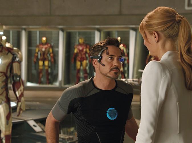 Robert Downey Jr. dans le rôle d'Iron Man