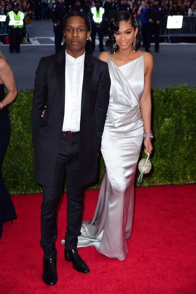 Chanel Iman et ASAP Rocky