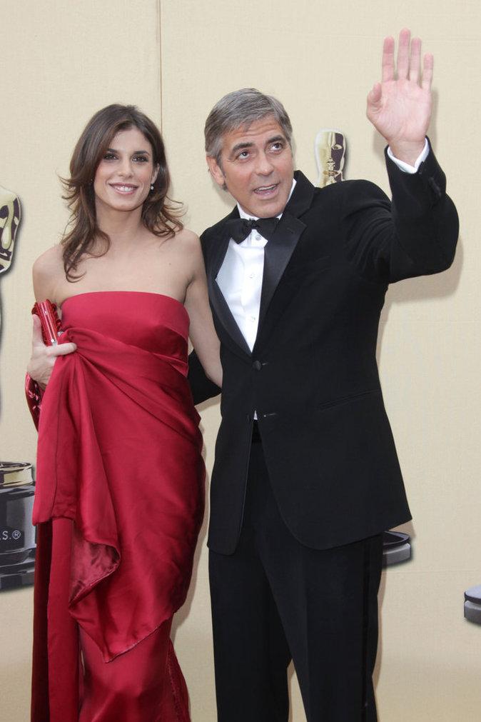 Elisabetta Canalis et George Clooney