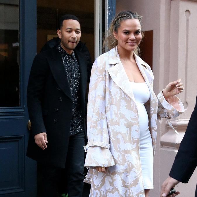 Chrissy Teigen et John Legend sont rayonnants