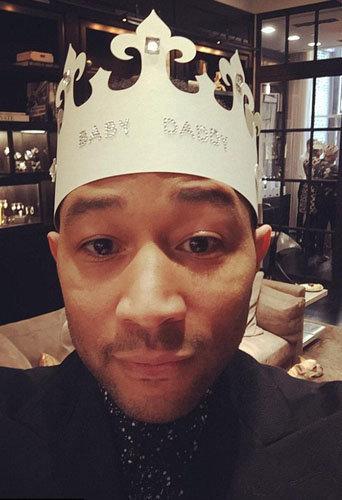 John Legend avait une couronne spéciale Baby Shower