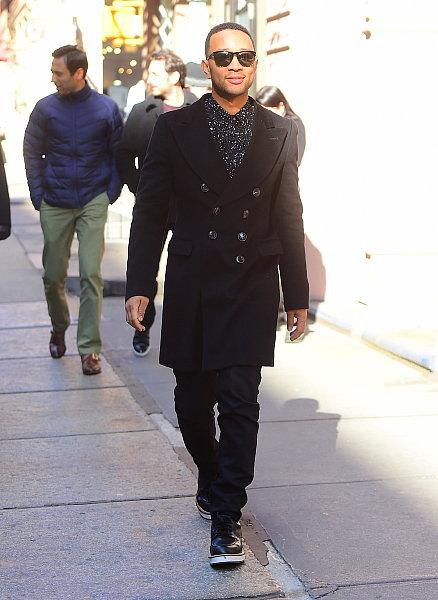 John Legend, stylé pour sa baby shower