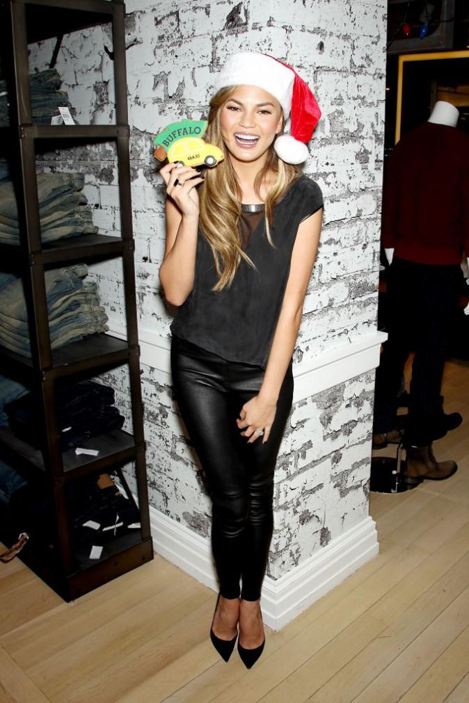 Chrissy Teigen le 11 décembre 2014