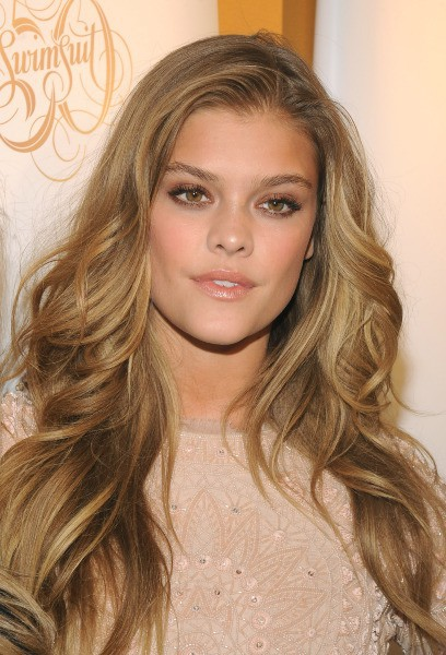 "Nina Agdal lors de la soirée ""Sports Illustrated"" à New York, le 18 février 2014."