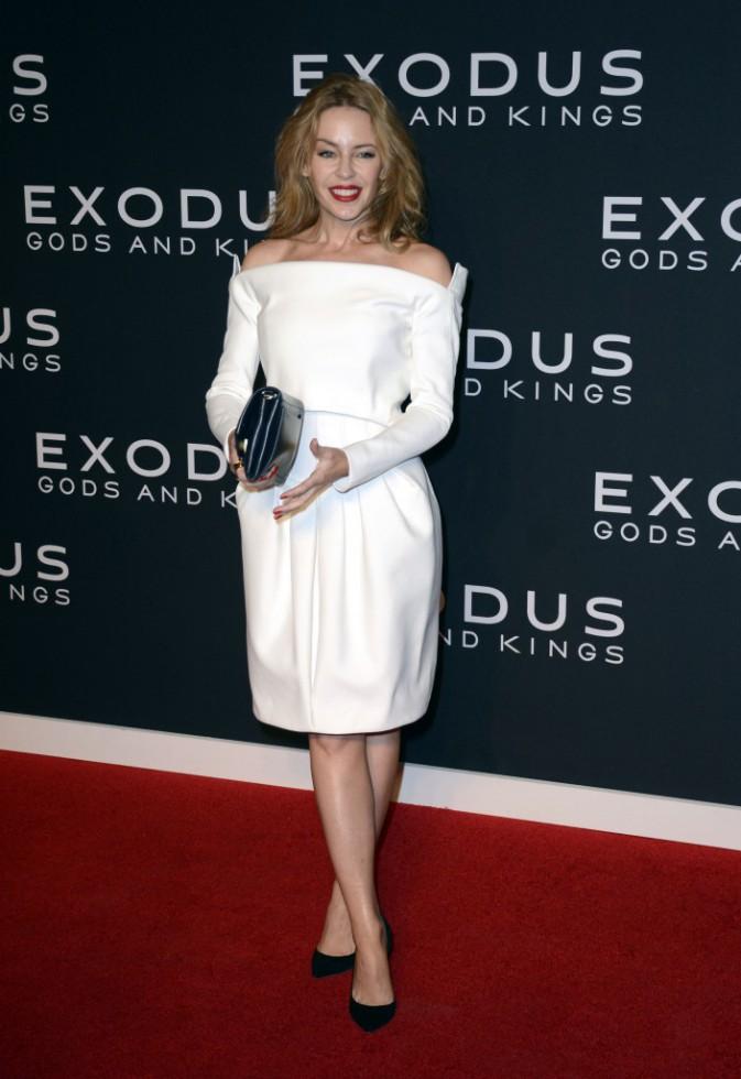 Kylie Minogue le 7 décembre 2014