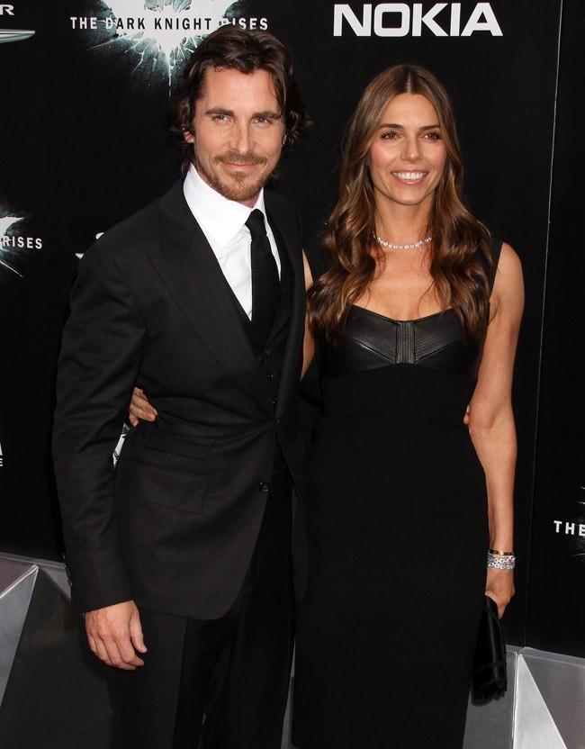 Christian Bale et sa femme le 16 juillet 2012 à New York