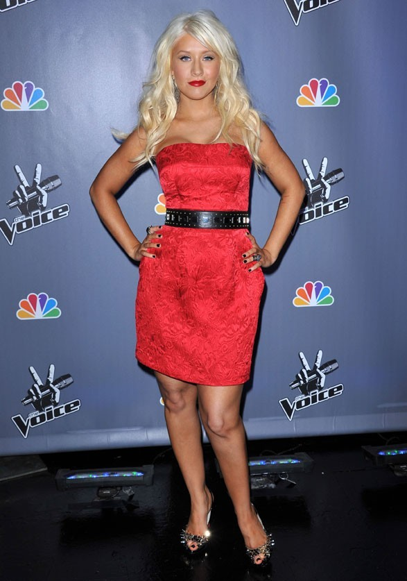 Vous aimez sa robe Dolce & Gabbana ?