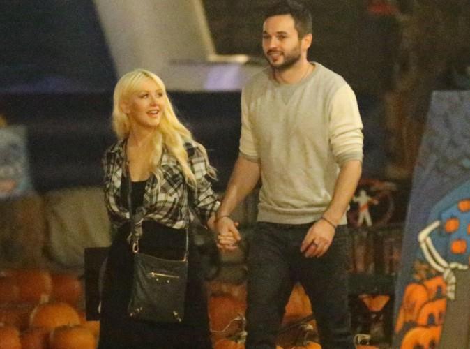 Christina Aguilera : une chasse à la citrouille placée sous le signe de l'amour !