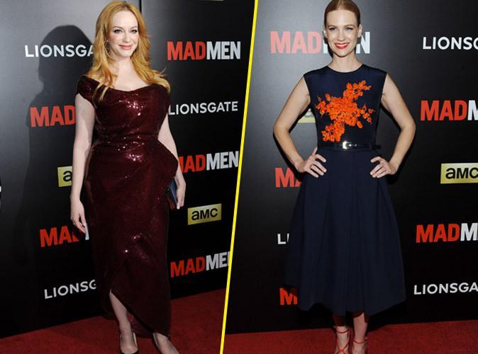 Christina Hendricks et January Jones : duel de coloration pour les stars de Mad Men !