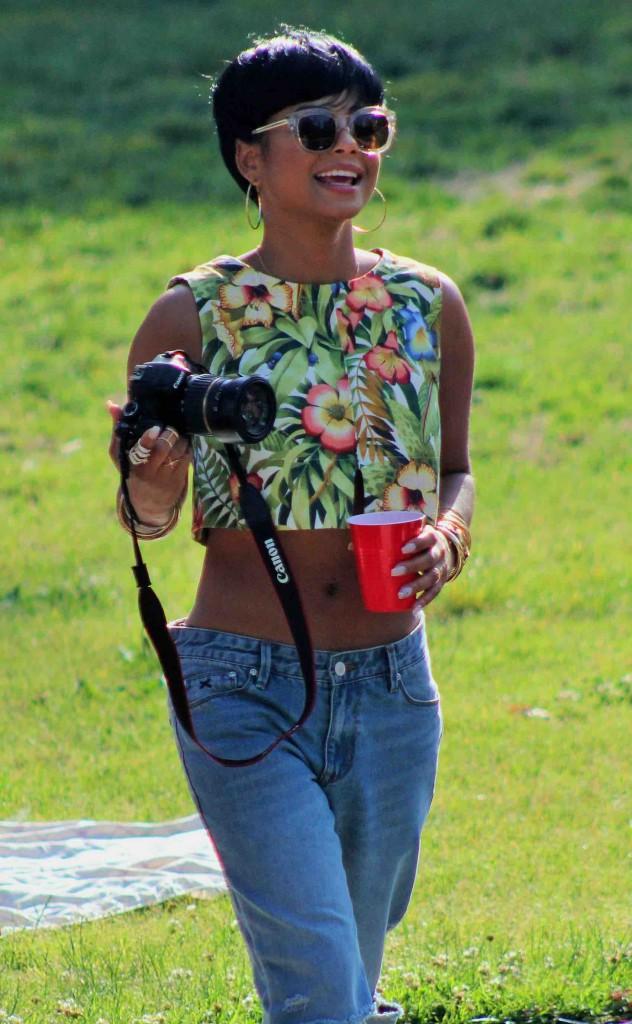 Christina Milian : elle passe aux cheveux courts !